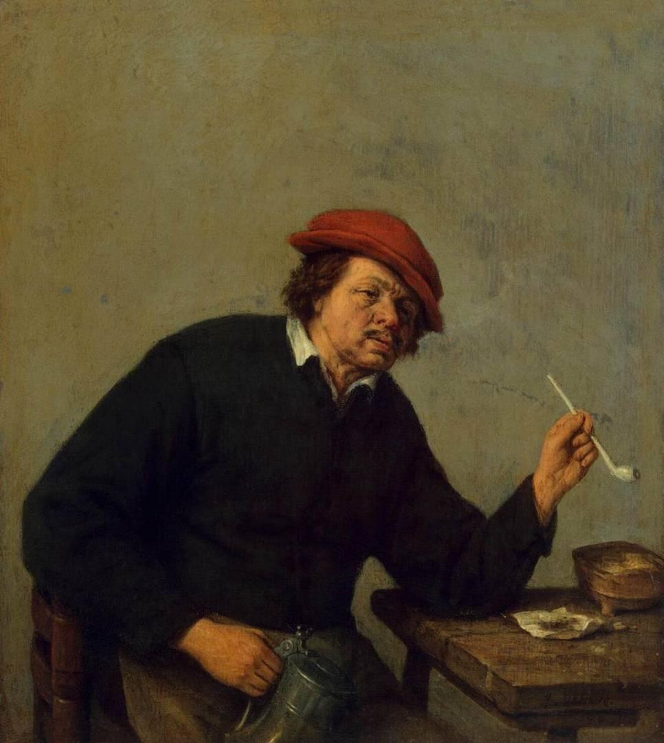 Курильщик.