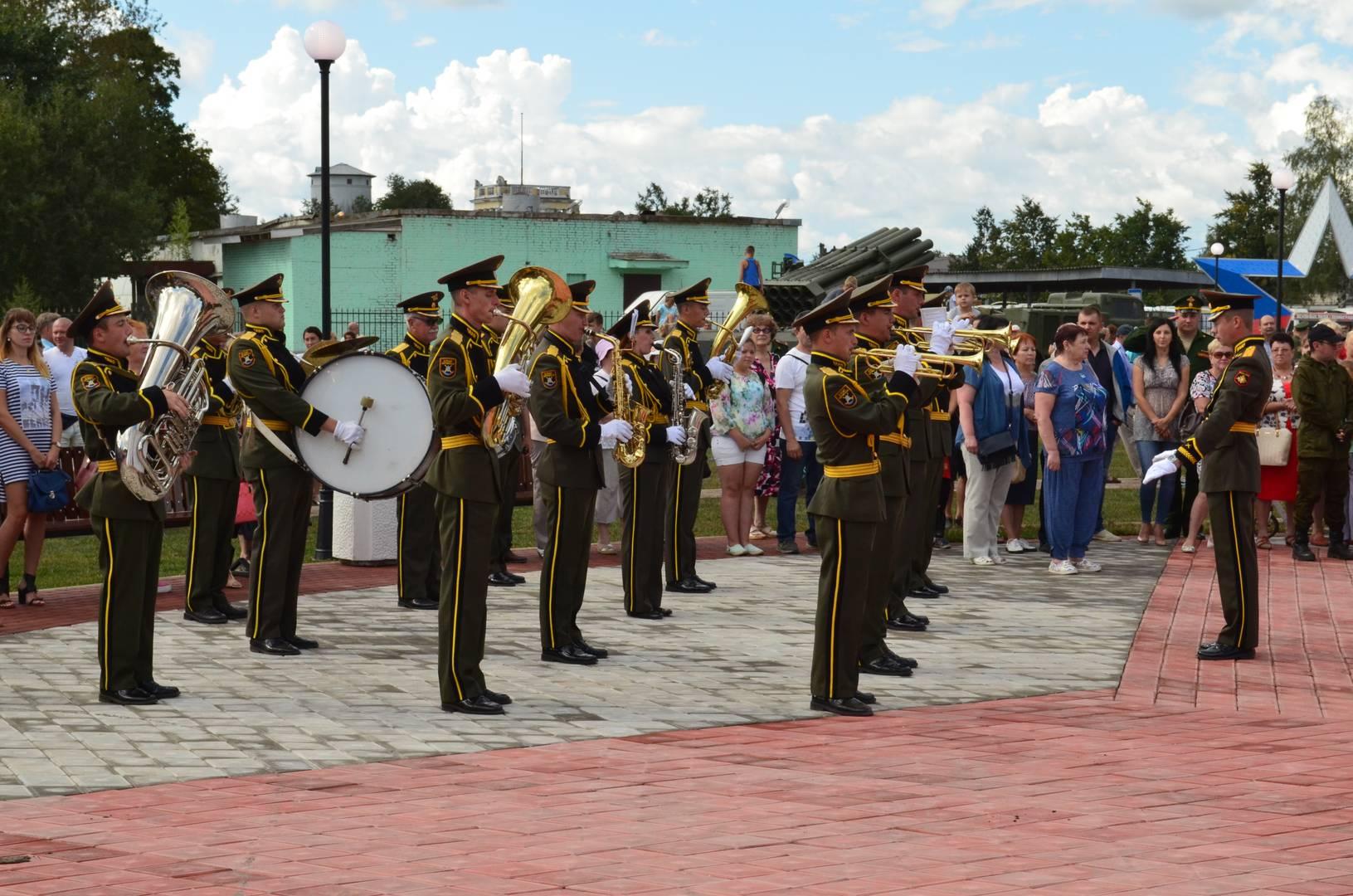 Оркестр 9-й Гвардейской артиллерийской бригады