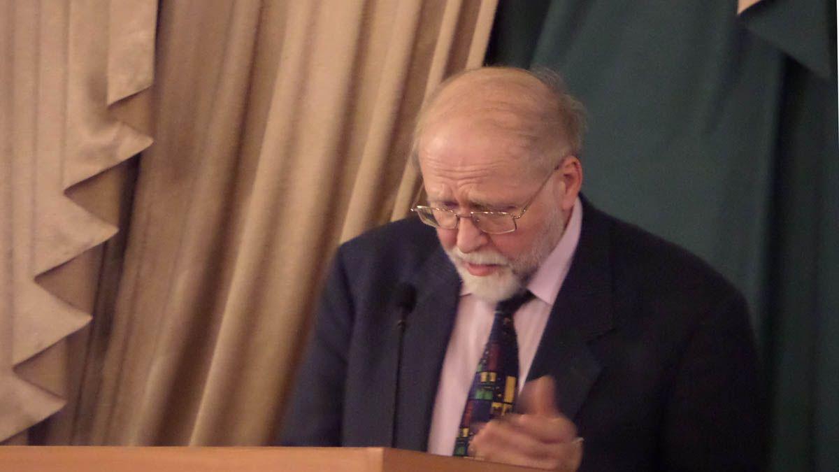 Профессор СПбГУ Владимир Александрович Гуторов. Санкт-Петербург. 14.12.2017