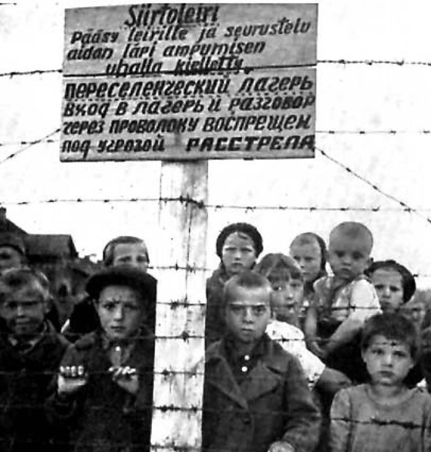 Дети узники финского концлагеря
