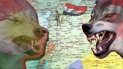Сирия.Конфликт Турции и Курдов.