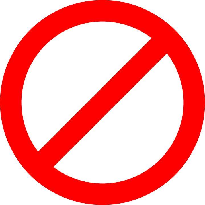 Запрет, автор: OpenClipart-Vectors, лицензия: CC0 1.0