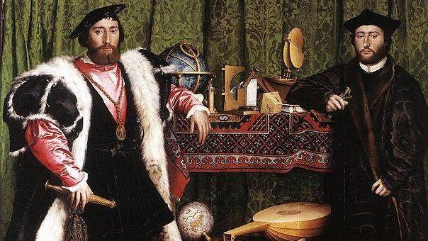 Ганс Гольбейн Младший. Послы (фрагмент). 1533