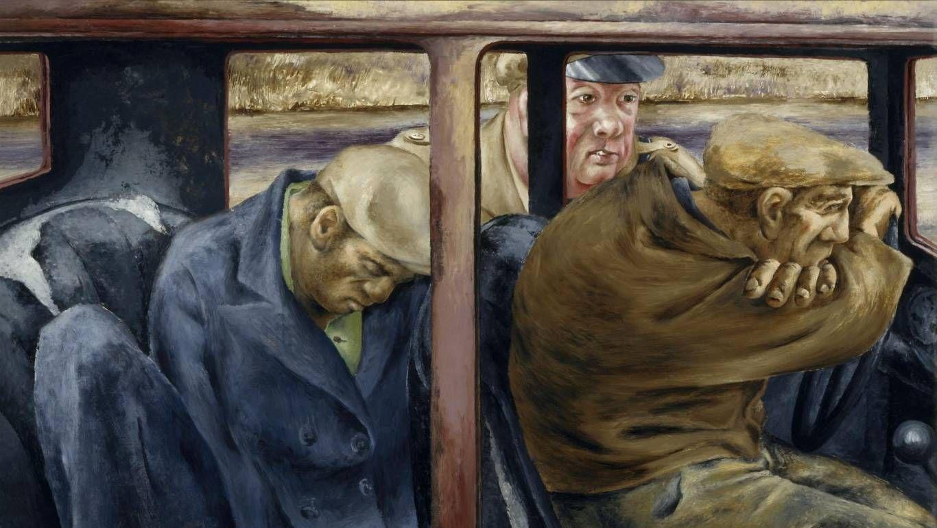Джон Лэнгли Ховард. Безработные. 1937