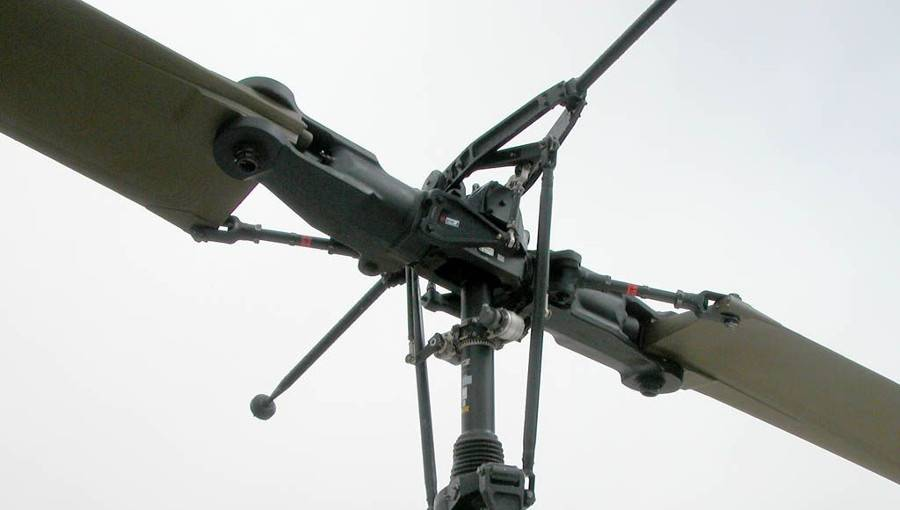 Винт вертолета