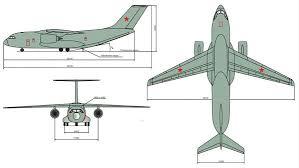 Эскиз самолета Ил-276 (сс)