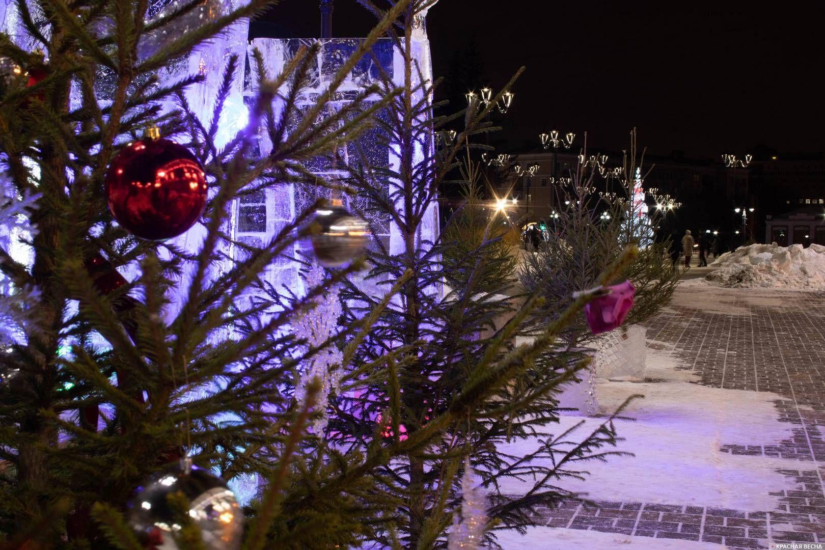 В Новый год все елки должны быть нарядными