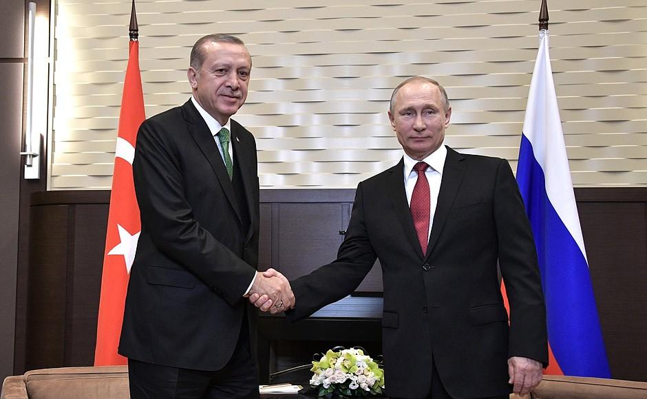 Владимир Путин и Реджеп Тайип Эрдоган [kremlin.ru]