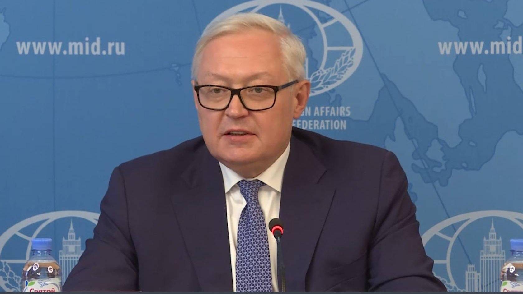 С.А.Рябков на брифинге в связи с прекращением действия Договора о РСМД, Москва, 5 августа 2019 года