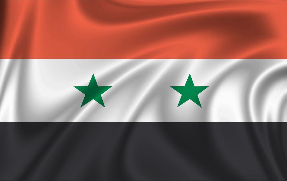 Картинка сирийского флага