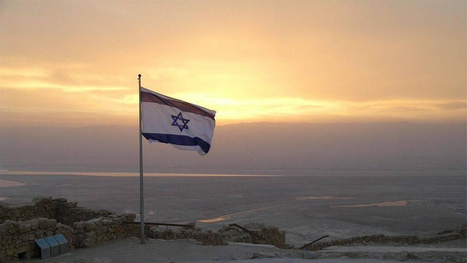 флаг, израильский, израиль
