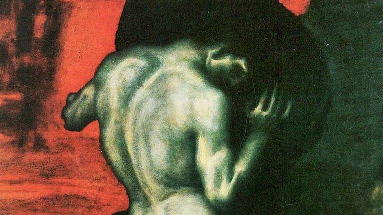 Франц фон Штук. Сизиф (фрагмент) . 1920