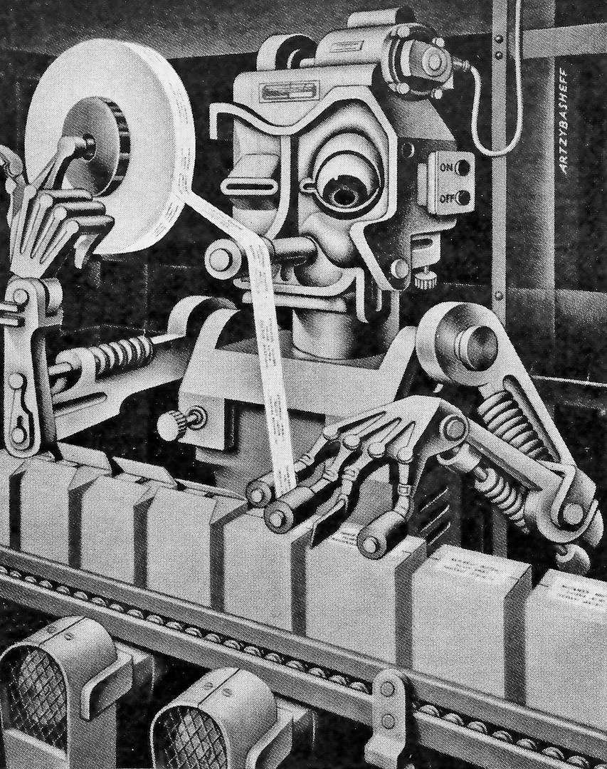 Борис Арцыбашев. Автоматизация. 1957