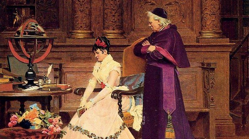 Вибер Жан Жорж. Выговор (фрагмент). 19 век