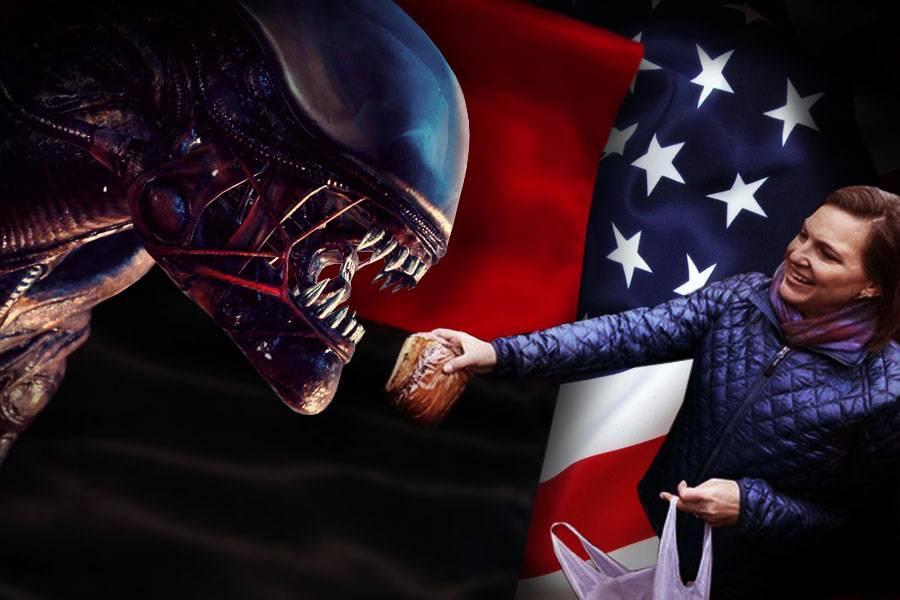 США кормит бандеровцев