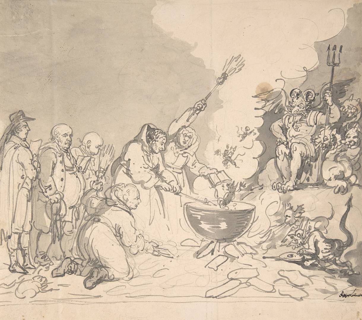 Томас Роулендсон. Чары демократии рассмотренны, проанализированны и уничтоженны. 1 января 1799 г.