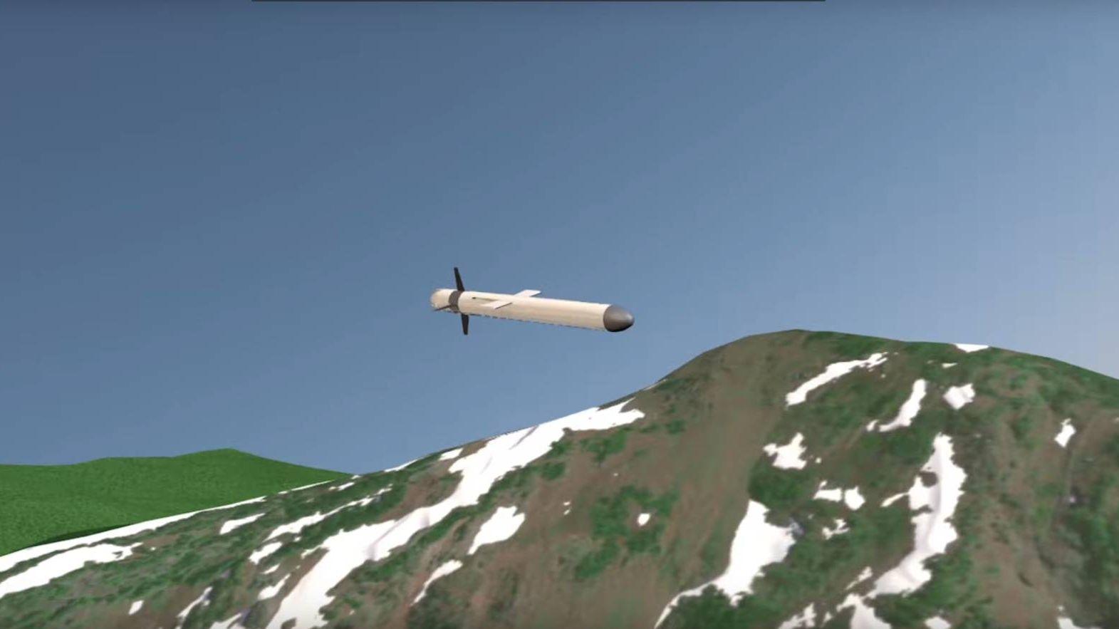 Крылатая ракета с ядерной энергоустановкой