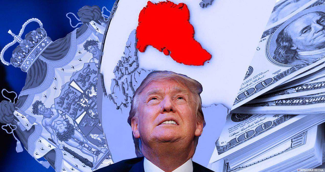 Трамп в мечтах о Гренландии