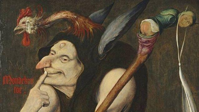 Квентин Массейс. Аллегория глупости (фрагмент). 1510
