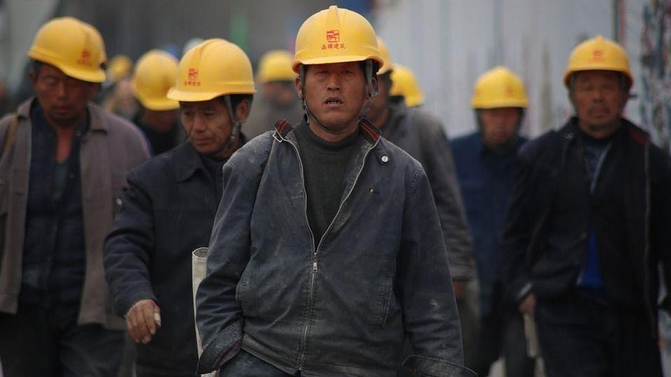 Китайские рабочии