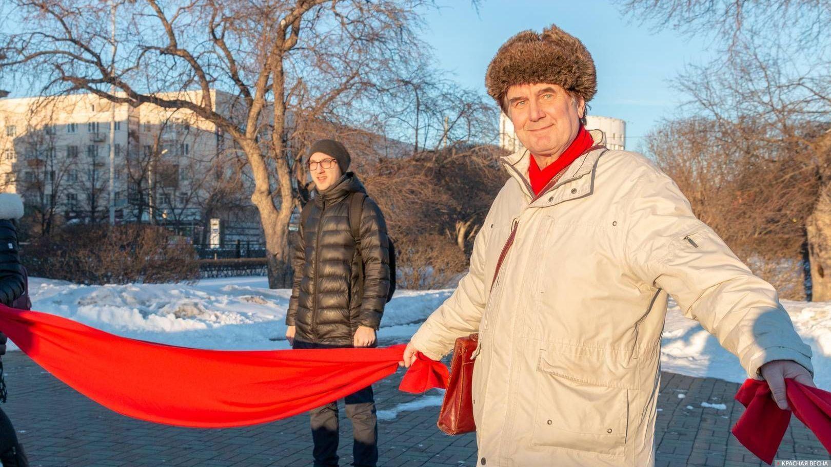 Акция «Защита Свердлова». Екатеринбург. 16.03.2019