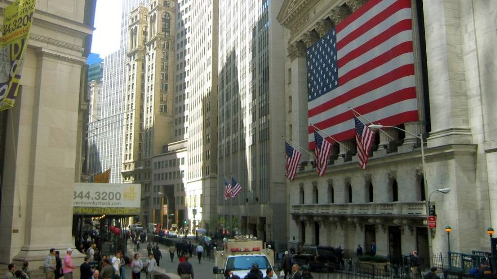 Нью-Йоркская фондовая биржа. Уолл-стрит