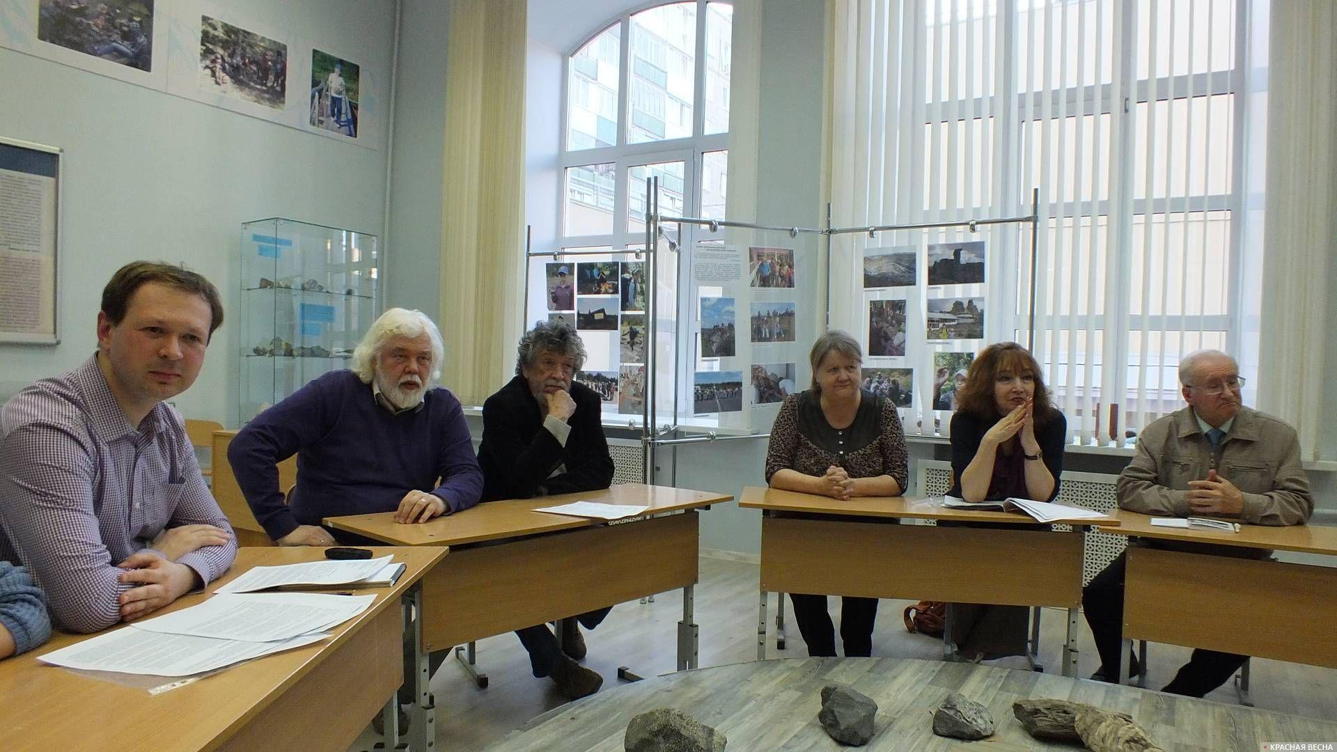 Участники круглого стола 16 мая 2018 года. Пермь