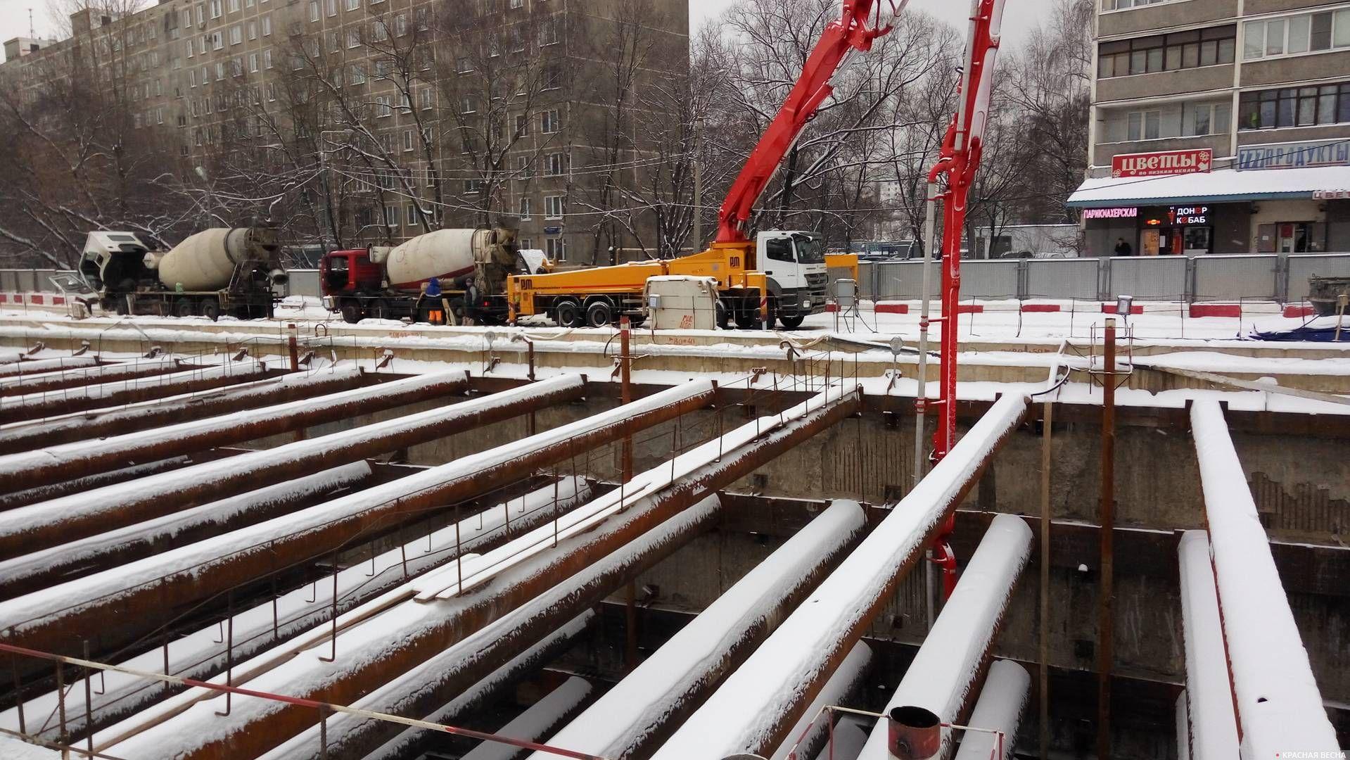 строительство метро Юго-восточная Москва