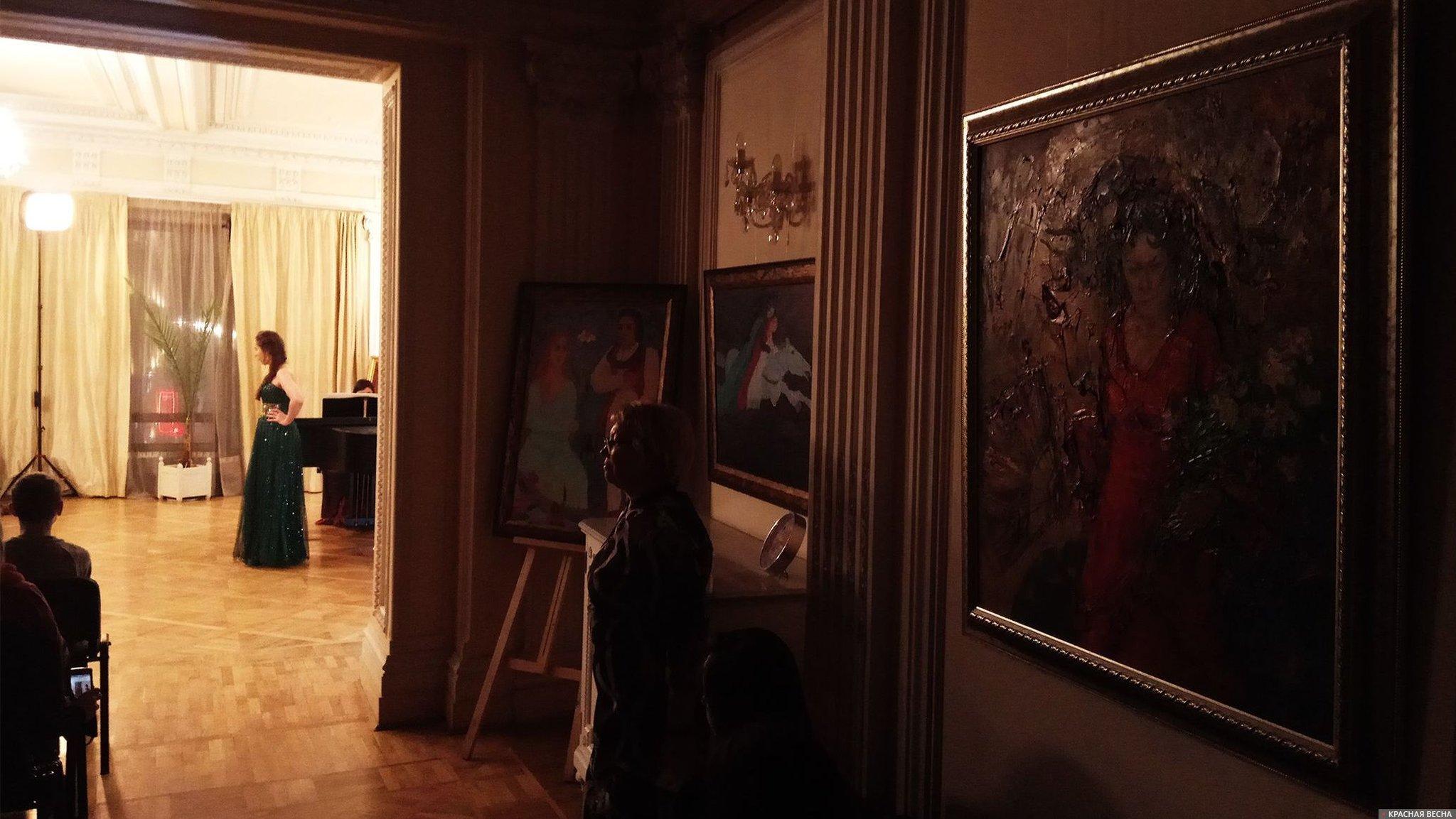 Концерт на выставке Времена года.Санкт-Петербург 10.01.18