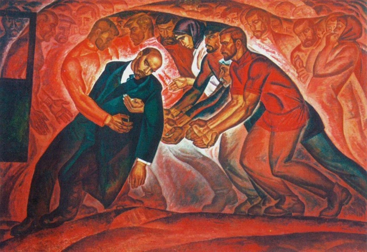 Владимир Кленов. Ленин и рабочие. Покушение. 1967 год