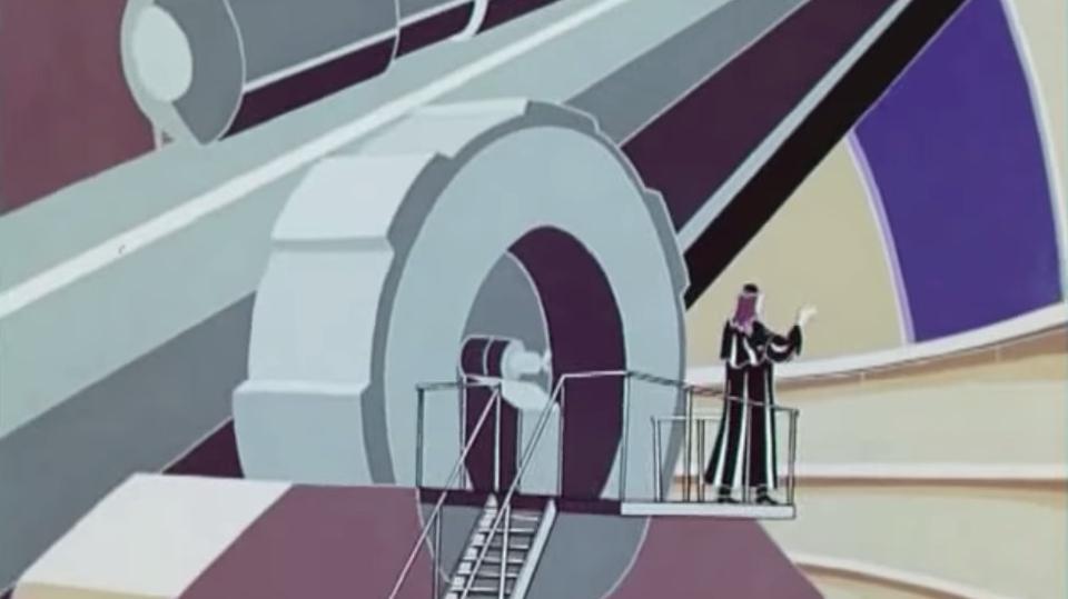 Цитита из м/ф «Голубой метеорит», реж. Анатолий Петров, 1971г., СССР