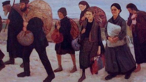 Маурицио Минковский. Беженцы. 1906-1909