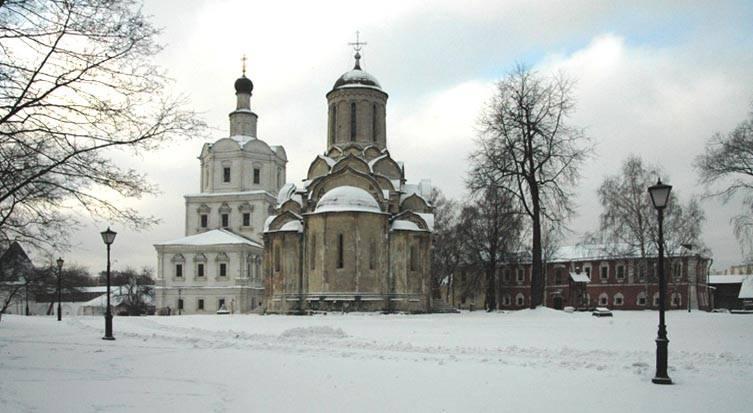 Москва. Спасо-Андроников монастырь