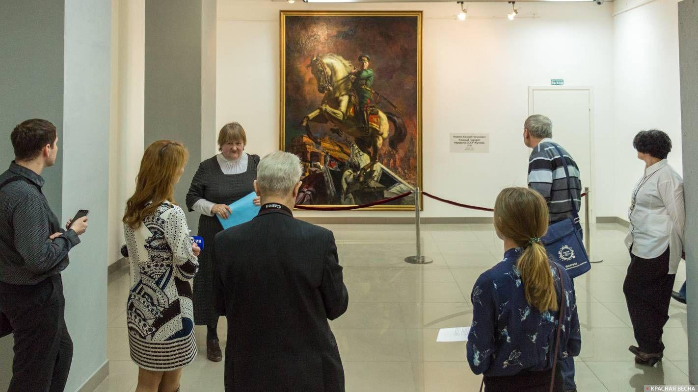 «Конный портрет Маршала Жукова»