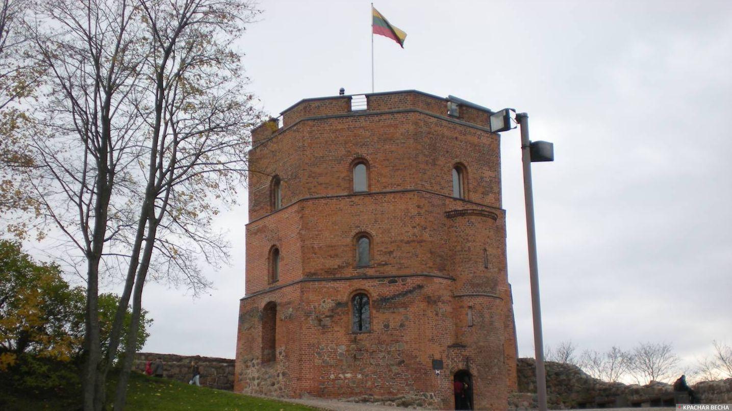 Башня Гедемина. Вильнюс, Литва