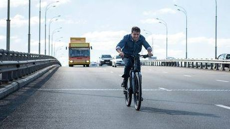 Зеленский на велосипеде