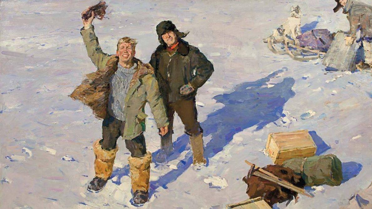 Олег Гадалов. Геологи. 1963