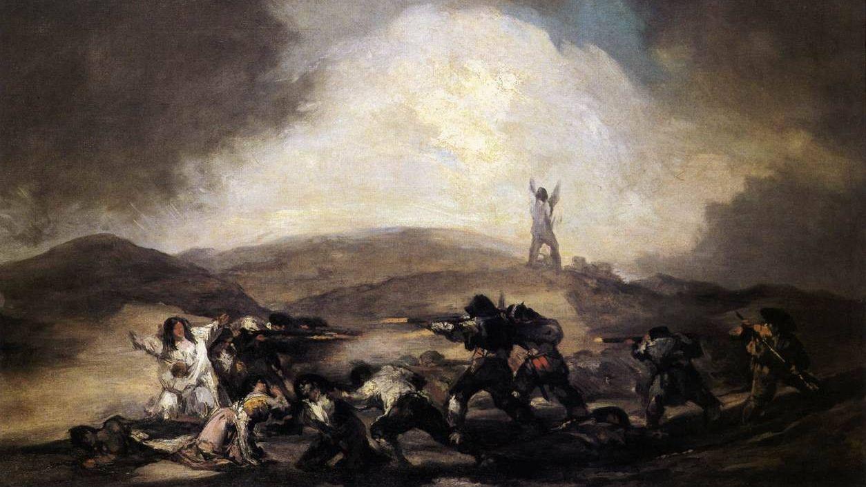 Франсиско де Гойя. Разбой. 1794