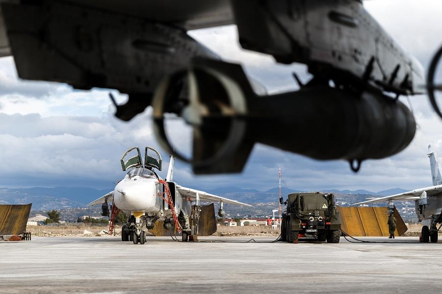 Будни ВКС РФ на авиабазе Хмеймим в Сирии [syria.mil.ru]