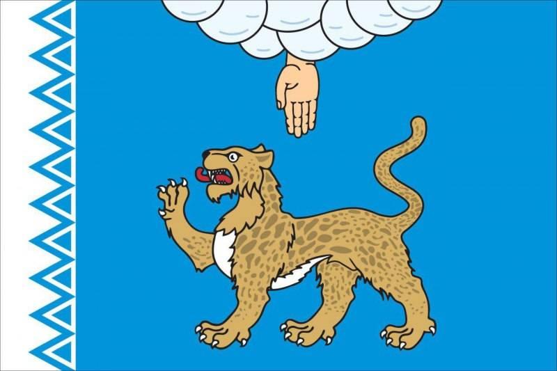 Финальный эскиз флага Псковской области