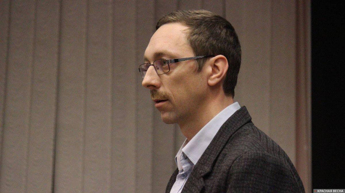 Владимир Васильев на судебном заседании