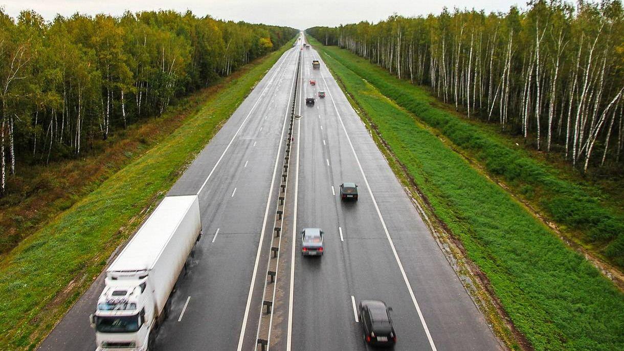 Трасса М-5 возле Чемодановки