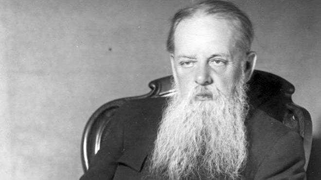 Писатель Павел Бажов