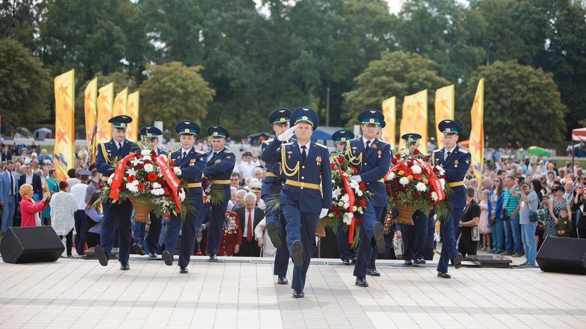 Торжества, посвященные 76-й годовщине танкового сражения под Прохоровкой. 12.07.2019г.