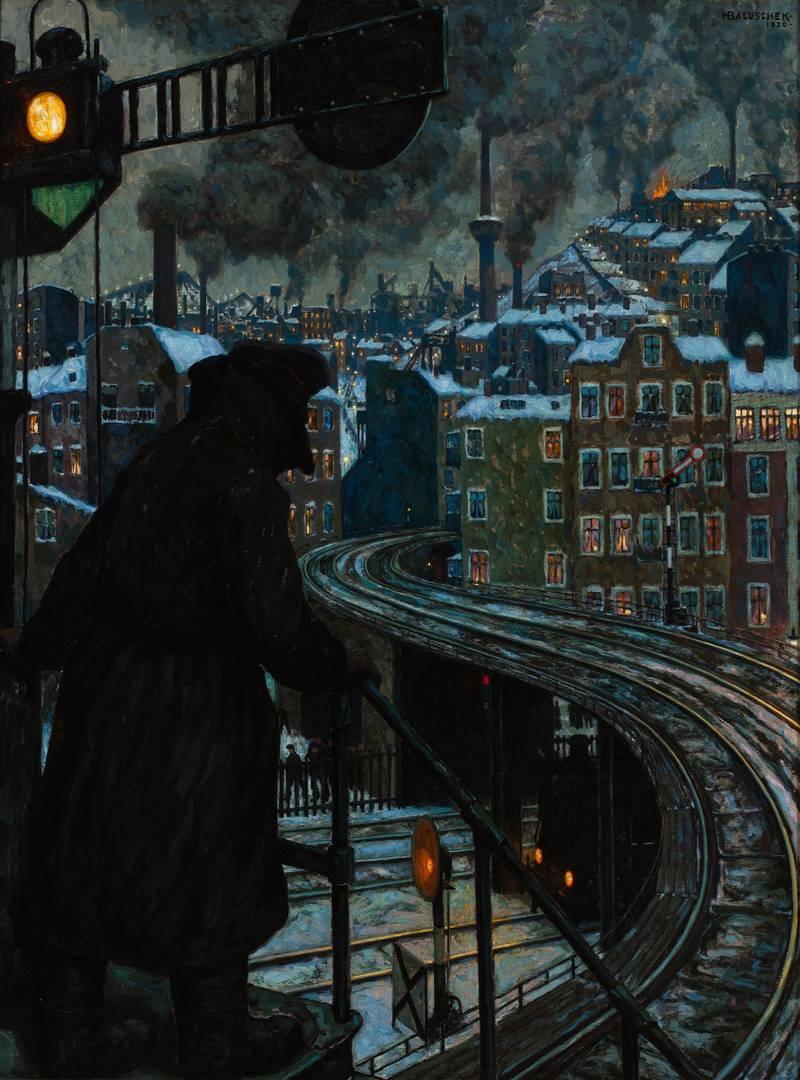Ганс Балушек. Город рабочего класса. 1920