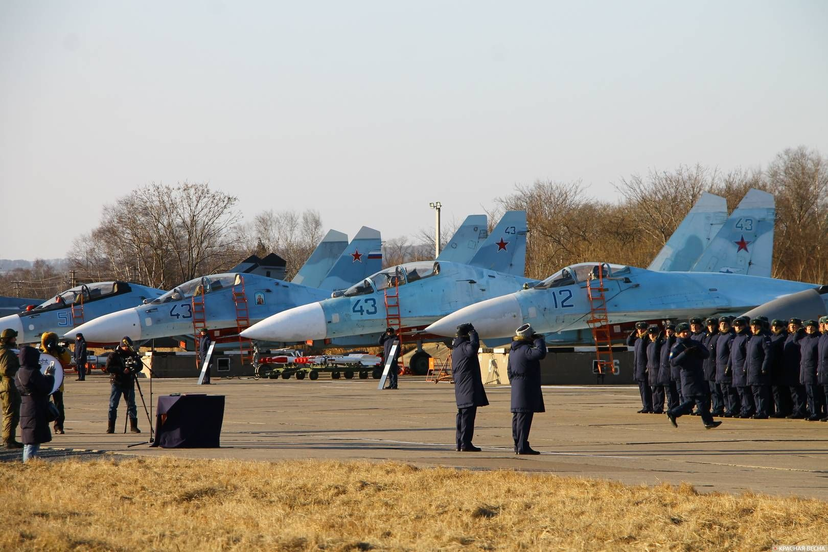 Авиабаза Центральная Угловая. Приморский край