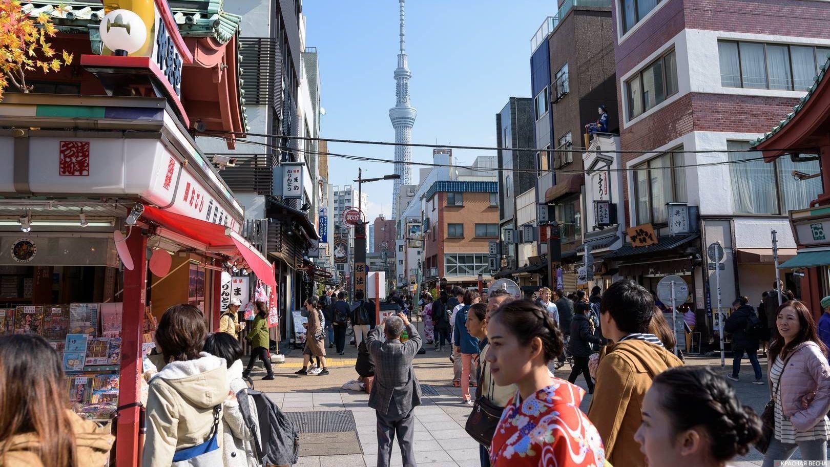 Район Асакуса, Токио, Япония