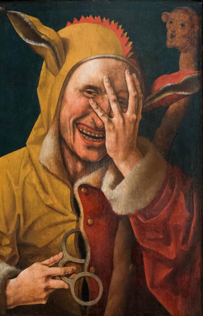 Якоб Корнелис ван Остсанен, «Шут», ок. 1500