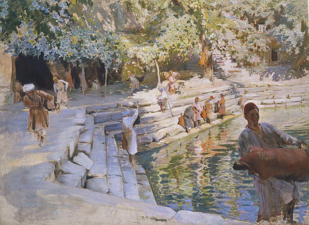 Беньков П. П. Хауз с водоносами. 1929 г.