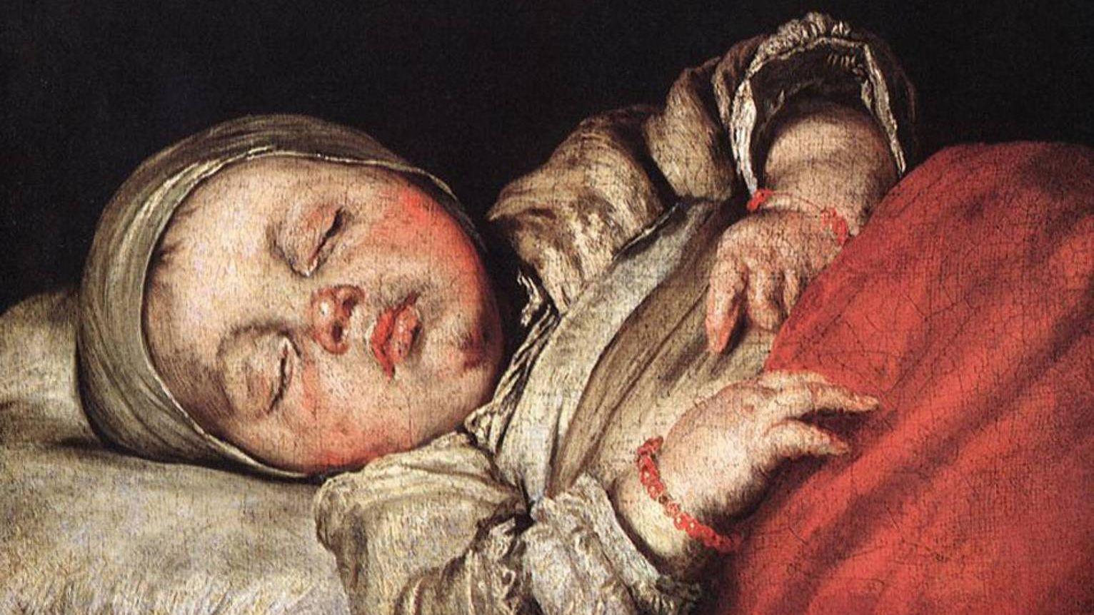 Сон ребенка. Бернардо Строцци. 1607